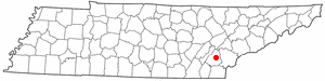 Location Of Athens Tennessee