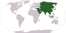 Location Of Asia