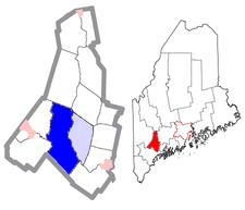 Location Of Auburn Maine