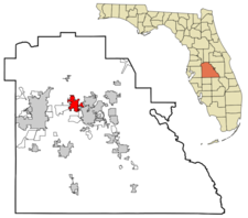 Location In Polk County And The State Of Florida