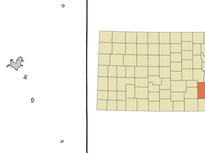 Location Of Augusta Kansas