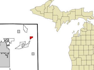Location Of Augusta Michigan