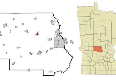 Location Of Avon Minnesota