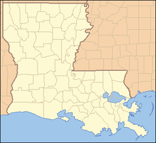 Location Of Baker In Louisiana