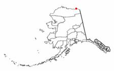 Location Of Kaktovik Alaska