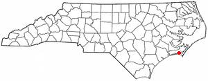Location Of Beaufort North Carolina