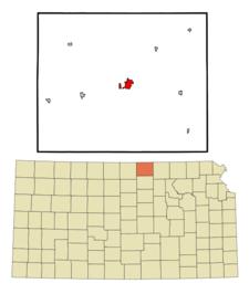 Location Of Belleville Kansas