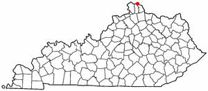 Location Of Bellevue Kentucky
