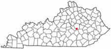 Location Of Berea Kentucky