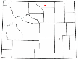 Location Of Big Horn Wyoming