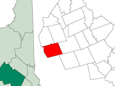 Location In Merrimack County New Hampshire