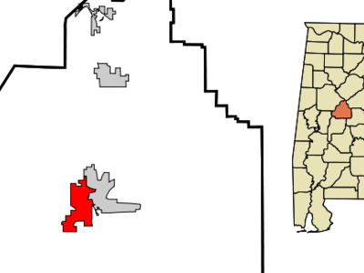 Location In Bibb County And The State Of Alabama