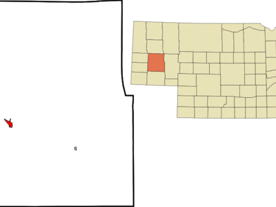 Location Of Bridgeport Nebraska