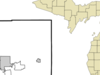 Location Of Brooklyn Within Jackson County Michigan