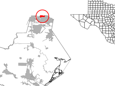 Location Of Brookside Village Texas