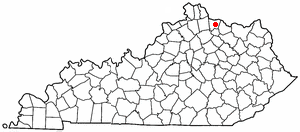 Location Of Brooksville Kentucky