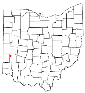 Location Of Brookville Ohio