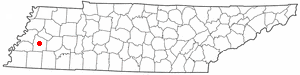 Location Of Brownsville Tennessee