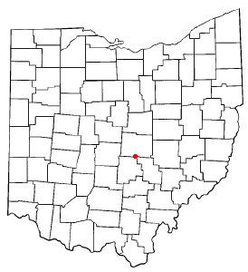 Location Of Buckeye Lake Ohio