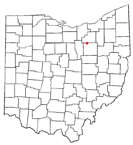 Location Of Burbank Ohio