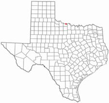Location Of Burkburnett Texas