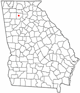 Location In Cherokee County In The State Of Georgia