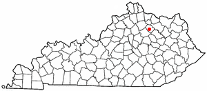 Location Of Carlisle Kentucky