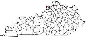 Location Of Carrollton Kentucky