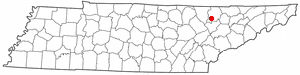 Location Of Caryville Tennessee