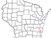 Location Of Cascade Wisconsin