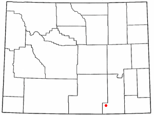 Location Of Centennial Wyoming