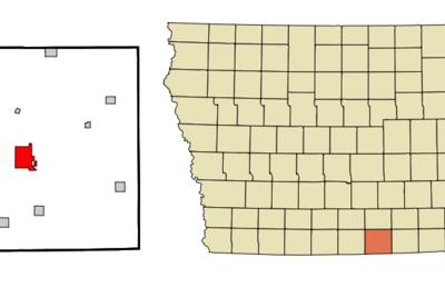 Location Of Centerville Iowa