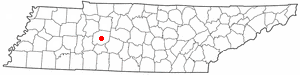 Location Of Centerville Tennessee