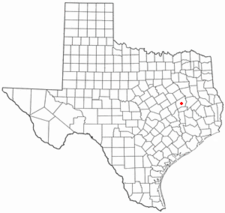 Location Of Centerville Texas