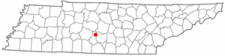 Location In Marshall County And The State Of Tennessee.