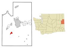 Location Of Cheney Washington