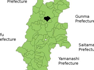 Location Of Chikuma In Nagano