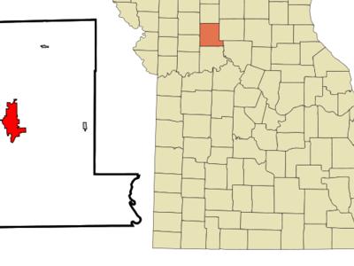 Location Of Chillicothe Missouri
