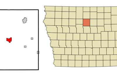 Location Of Clarion Iowa