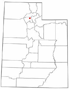 Location Of Clearfield Utah