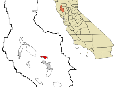 Location In Lake County And The State Of California