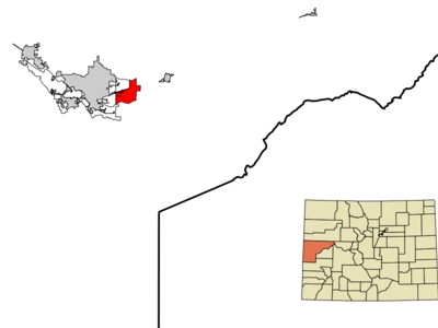 Location In Mesa County And The State Of Colorado