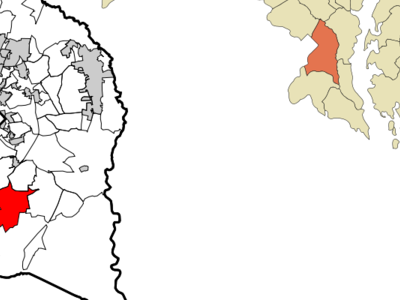 Location Of Clinton Maryland