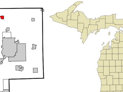Location Of Clio Michigan