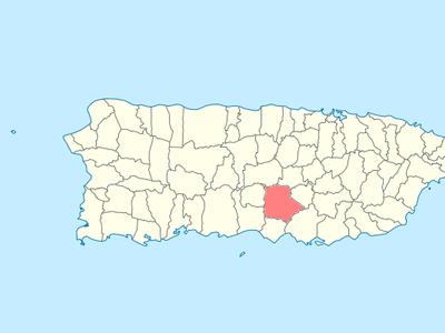 Location Of Coamo In Puerto Rico