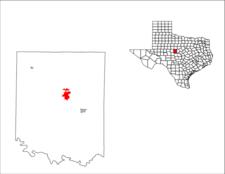 Location Of Coleman Texas