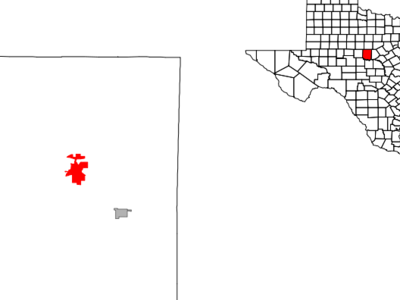 Location Of Coleman Texas