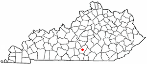 Location Of Columbia Kentucky