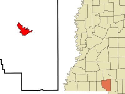 Location Of Columbia Mississippi