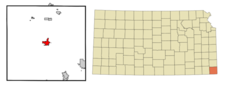 Location Of Columbus Kansas